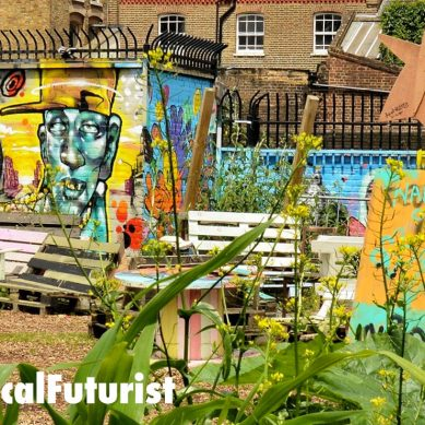 Futurist in Milton Keynes: The Future of Communities, Castleton European Summit