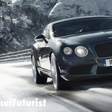 Futurist in the press: Forward Thinking, Bentley Centennial Magazine