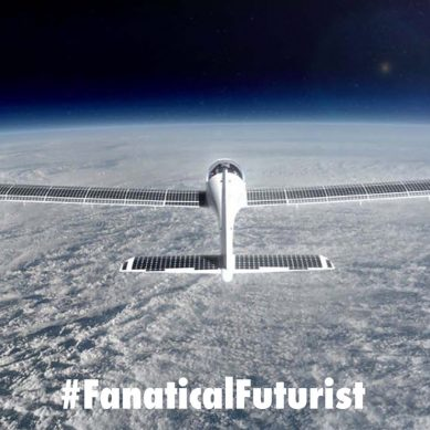 World's first commercial solar aircraft aims for the Stratosphere