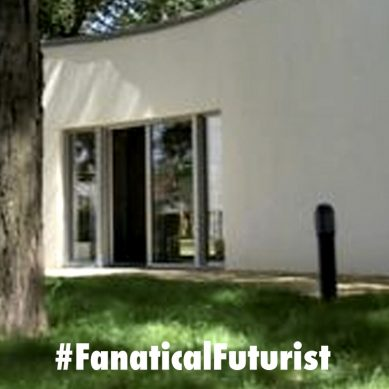 A family in France become the first family to live in a 3D printed house