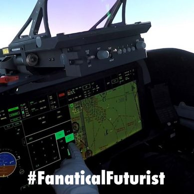 "BAE is developing a ""wearable"" cockpit for fighter jets"
