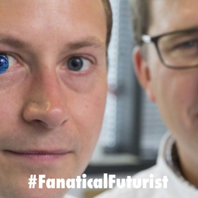 Researchers 3D print human corneas in world first