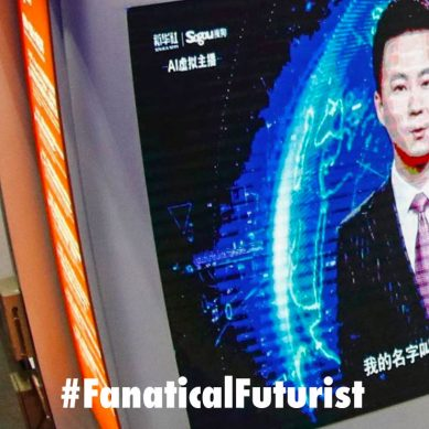 China debuts the world's first AI news anchor