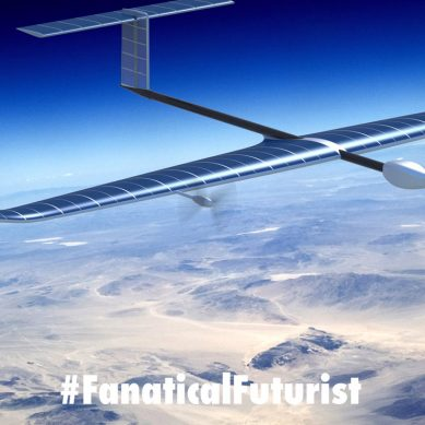 Record breaking solar powered aircraft stays aloft for 26 days straight
