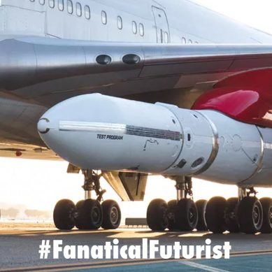 Virgin Orbit strapped a rocket to their 747 to democratise access to space