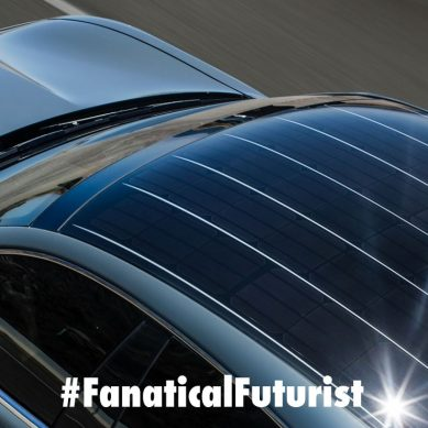 Hyundai unveils the worlds first car with a solar power panoramic roof