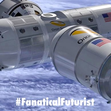 Luxury space hotel preps for launch in 2021