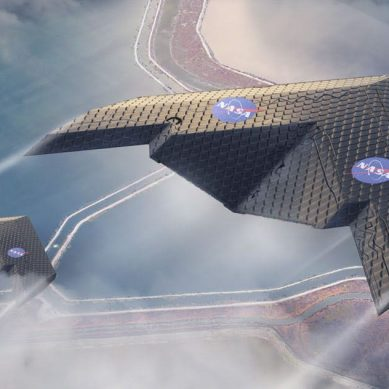 "NASA's revolutionary metamaterial ""morphing"" wing mimics birds wings"